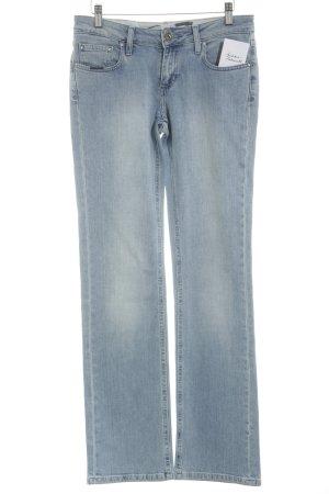 Seven7 Straight-Leg Jeans kornblumenblau-himmelblau Casual-Look