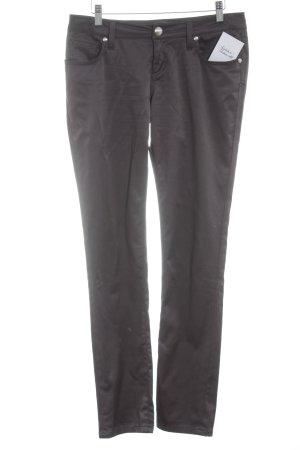 Seven7 Stretchhose grauviolett Casual-Look