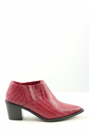 Seven7 Western-Stiefeletten rot Animalmuster Casual-Look