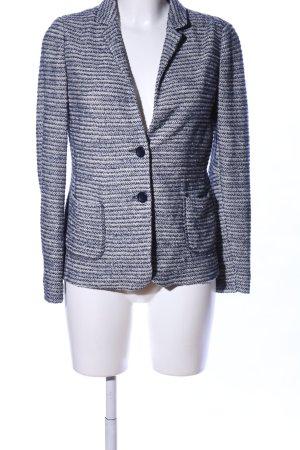 Seventy Blazer tejido gris claro moteado look casual
