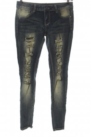 seventyseven Jeans taille basse bleu style mode des rues