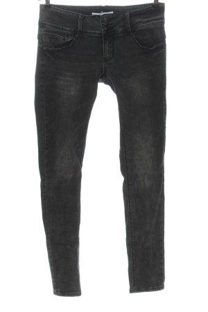 seventyseven Jeans taille basse gris clair style décontracté