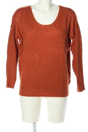 seventyseven Oversized Pullover hellorange Casual-Look
