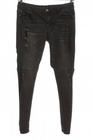seventyseven Jeans cigarette noir style décontracté