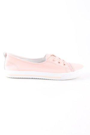 seventyseven Schlüpfsneaker weiß-pink Casual-Look