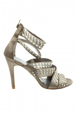 Sex and the City High Heels hellgrau Casual-Look
