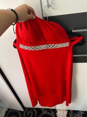 1.2.3 Paris Vestido de noche rojo