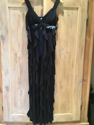 Sexy Abendkleid dunkelblau von Betsy & Adam Gr. 38