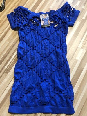 Cut out top blauw