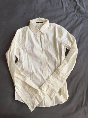 Sexy Business Bluse Weiß