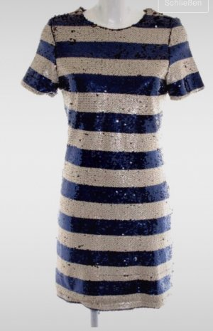 Club L Shortsleeve Dress natural white-dark blue