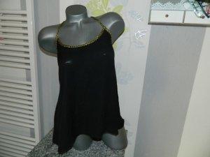 Danity Chemisier noir polyester