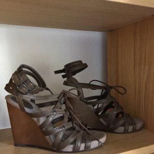 Sexy edc Sandalette/Wedges mit hohem Keilabsatz, Gr. 39 #Sommer