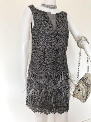 Sexy Feder-Party Kleid mit Spitze