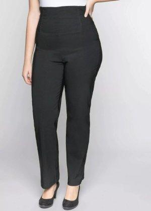 Sheego Pleated Trousers black