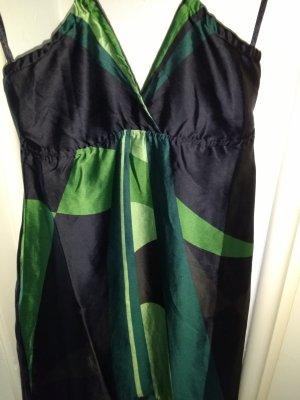 Sexy Glanz-Muster - Vokuhila Kleid Größe S