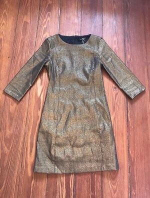 Sexy goldenes figurbetontes Kleid von Zara