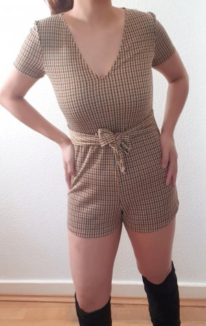 Sexy Houndstooth/Hahnentritt Playsuit/Overall/Jumpsuit
