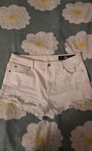 Armani Jeansowe szorty biały