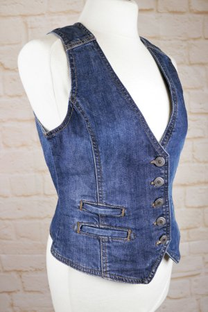 L.O.G.G. H&M Smanicato jeans multicolore Tessuto misto
