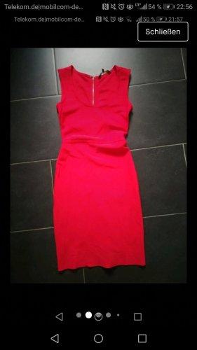 BCBG Maxazria Sukienka mini czerwony