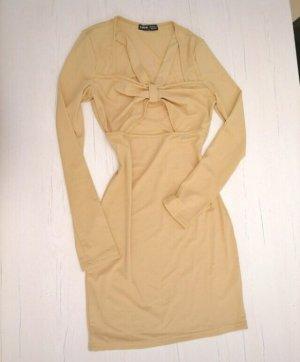 Sexy Kleid 34 Nude Farben Neu