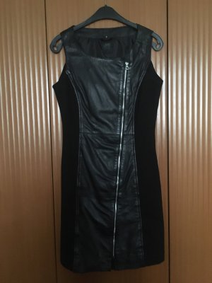 Sexy Kleid mit Leder