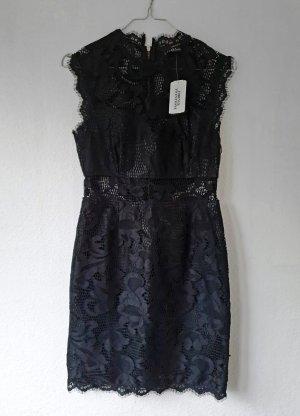 Sexy Kleid Spitzenkleid Etuikleid mit Reißverschluss