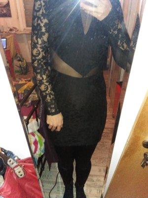 Sexy Kleid von Gina Tricot Perfekt fuers Date Spitze 36 34-36