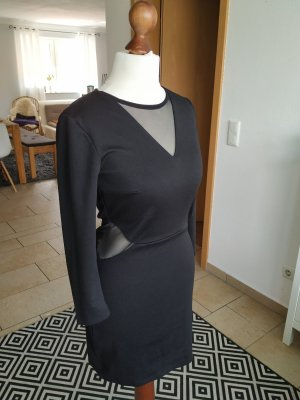 Mohito Vestido cut out negro