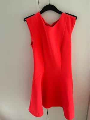 Sexy kurzes Kleid - knalliges Pink - Gr.36 - NEU