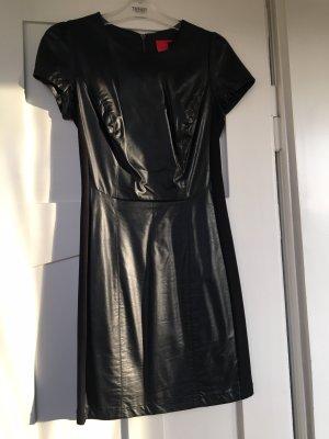 Sexy Lederkleid