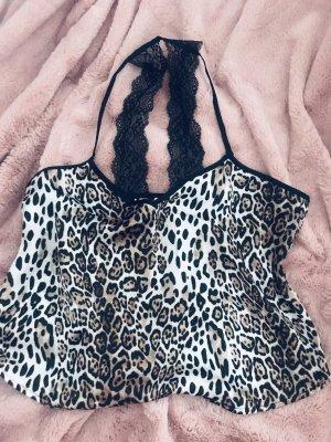 Sexy Leoparden/Seiden Schlafset