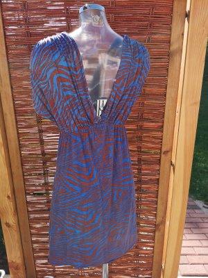 T-Bags Długi top cognac-niebieski