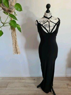 Sexy Maxi-Kleid von Club-L, schwarz, Gr 36