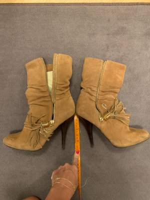 Michael Kors High Heel Boots bronze-colored-camel