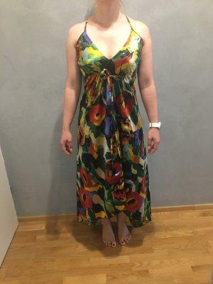 Lavand Vestido a media pierna multicolor Poliéster