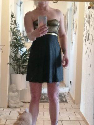 Melrose Mini Abito nero-oro