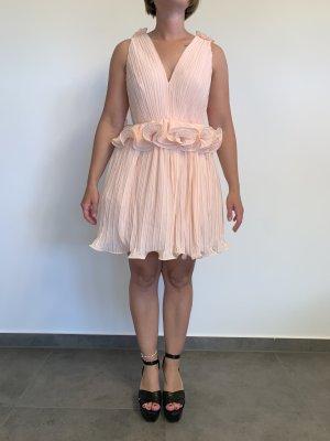 Sexy Minikleid von True Decadence Gr. L apricot