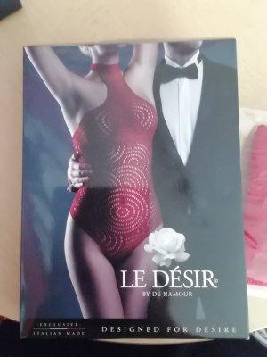 Le Desir Lingerie Set brick red