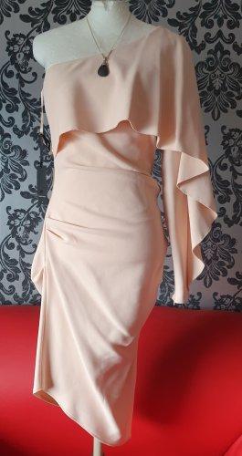 Sexy One-Shoulder Dress nude von Elisabetta Franchi *NEU*