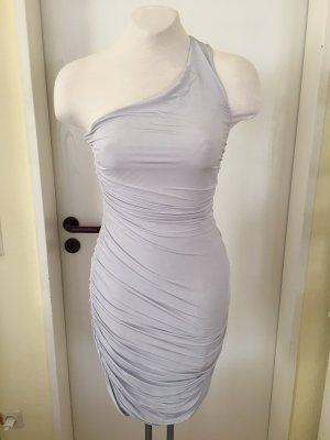 H&M Robe asymétrique gris clair