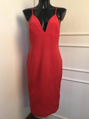 Hennes Collection by H&M Vestido elástico rojo