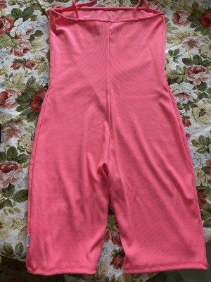 Bershka Jumpsuit pink viscose