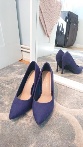 sexy Pumps High Heels blau 39 Stilettoabsatz