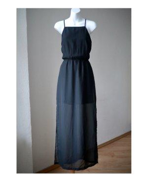 ♡ Sexy & raffiniert: Transparentes Kleid von H&M mit Unterkleid und seitlichem Schlitz, Top-Zustand, NP 24,99€ ♡