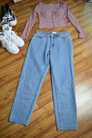 Nakd Jeans a vita alta grigio ardesia