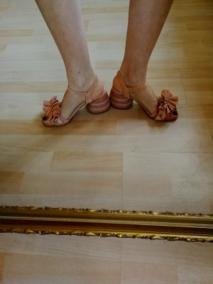 Paloma barceló Strapped High-Heeled Sandals nude