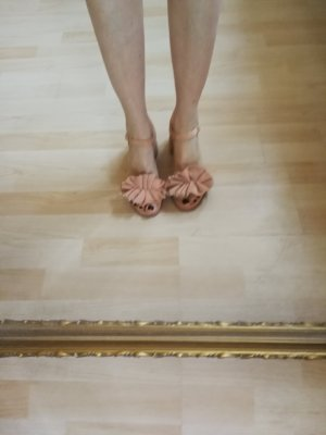 Paloma barceló Sandalo con cinturino color oro rosa