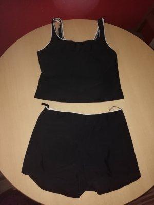 Sexy Schwarzer Bustier-Bikini Gr.40-Neu-C&A-High Waist